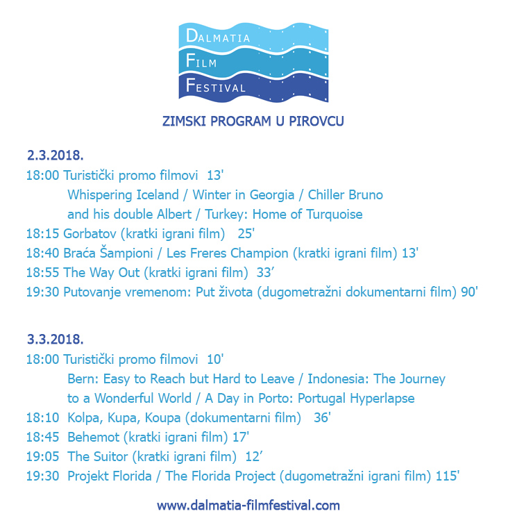 DFF zimski program Pirovac 2018